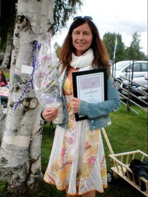 Motivering: Eva är en duktig och driftig person som gjort en härlig satsning med en
