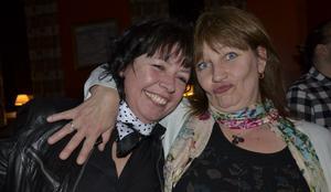 Vi var där. Lola Stark och Anna Lundgren.