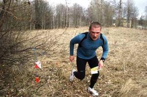 Roger Ek tillhörde skaran löpare som drog på ganska hårt. Det gav till slut en hög placering i resultatlistan.
