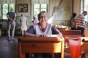 Ingrid Schön kallade sig för Inga när hon var elev i Askesta skola – och efternamnet var Olsson.