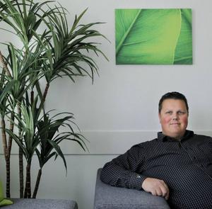 Torbjörn Bäckström, VD för Vericate som bedriver testverksamhet av tunga fordon här i länet.
