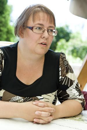 Anna Sandström säger att hon skrivit en bok som hon själv velat läsa när Jonathan fick sin diagnos.