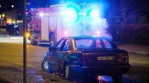Räddningstjänst på plats i Brunnsäng. Foto: LT-arkiv