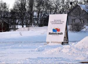 Nabocash är butiken för den pris- och kvalitetsmedvetna, om man får tro den egna reklamen.