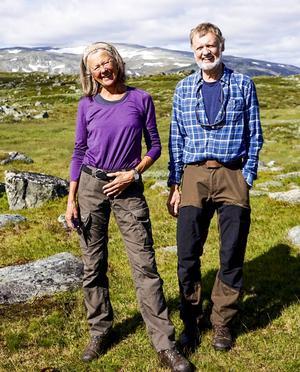 Eva Wallstam och Bo Stenson.