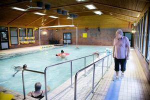 Simkunskaperna varierar stort mellan unga i Söderhamn. Genom projekten hoppas Håkan Jönzon att fler barn ska få bättre vattenvana.