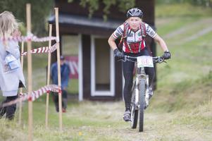 Maria Carlsson, Njurunda, snabbast i damklassen.