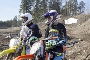 Jonas bergström, Järlåsa, och Adam Lenell, Eskilstuna siktar båda på junior-SM