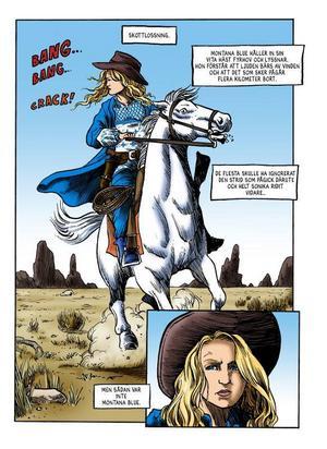 ... serieversionen av Mickes western-novell