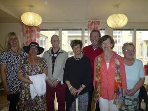 Anki Eriksson, Eva Styf, Ingemar Johansson, Birgitta Strömvall, Börje Larsson, Birgitta Larsson och Agneta Lärka.