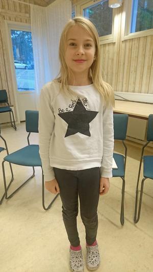 Tuva Johansson, 4a, Sunnerbyskolan
