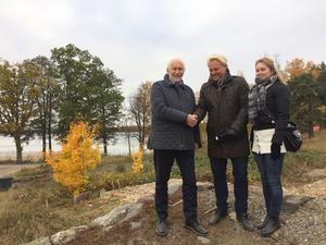 Ny ägare. Kjell Nilsson har sålt lägenhetsprojektet. Nu är det Stefan Wennerholm och Madeleine Wennerholm som ska se till att lägenheterna vid Yngern blir verklighet.