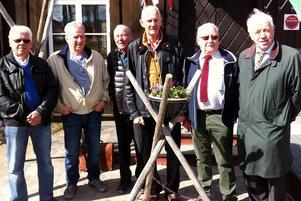 Conny Jonsson, Göran Lidgren, Bertil Larsson, Jakke Sjöberg, Anders Hansson och Sture Björk ställde snällt upp inför kameran innan det var dags för lunch.