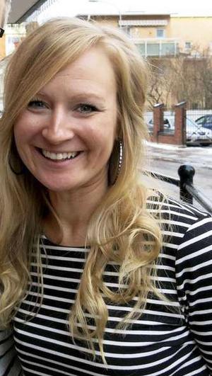 Johanna Liljeblad Lycksell, familjebehandlare på Grinden i Gävle.