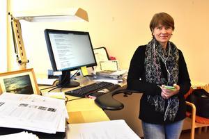 Christina Bröms är konsumentvägledare i Mora, Orsa och Rättvik. Arkivbild tagen av Stefan Rämgård.