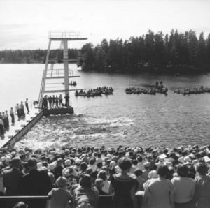 26 juni 1955 invigdes badet. Det var en högtidlig dag som självaste landshövdingen höll i.