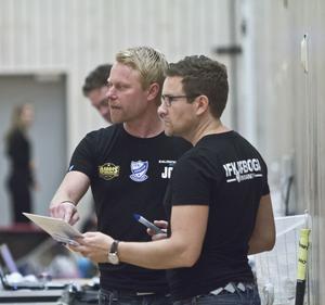 Jesper Gräf till vänster.