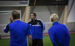 Jonas Höglund är inne på sin sjunde säsong som tränare för Iggesund.