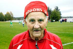 Per-Otto, 90 år, var med i den första ÖP-lirsfinalen 1935.