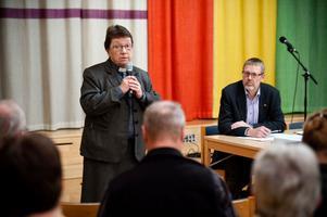 Stora Tunas kyrkoherde Ann-Gerd Jansson och ordföranden i Torsångsförsamling Sören Hellberg är rörande överens om att en sammanslagning på det stora hela bara har positiva konsekvenser.