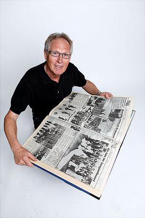 En bild säger mer är 1000 ord sägs det och visst stämmer det. Men varje bild har också en historia som inte syns på bilden. Under den här vinjettenberättar VLT:s fotografer om någon av sina bilder.I dag, Lars Höglund, fotograf på VLT sedan 1970, numera en av tidningens redigerare.