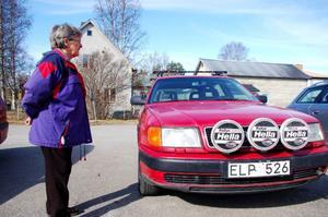 – Jag har aldrig ens varit i Köping och kommer inte att åka dit, säger Ingegärd Olsson som fick en falsk parkeringsbot.Foto: Carin Selldén