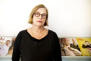 Teaterförbundets ordförande Anna Carlson.