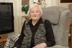 Anna Persson i Särnaheden fyller 100 år på söndag.