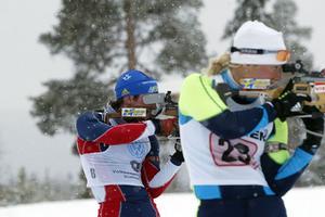 Världscupsåkaren Ted Armgren, till vänster, kommer till Östersund.