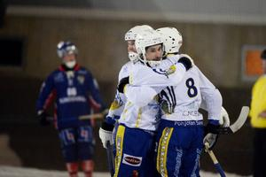 Haparanda-Torneå fick anledning att jubla hela åtta gånger i den allsvenska kvalpremiären.