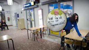 Stressad kund skickade tårta till Pressbyrån vid Centralstationen.
