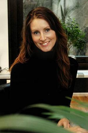 Ulrika Levin, trädgårdsarkitekt.