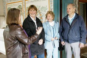 Största belöningen är uppskattningen från besökarna. Gun-Marie Swessar känner stor tacksamhet och uppskattning från sina besökare som hon bland annat guidar runt i Ol-Andersgården.
