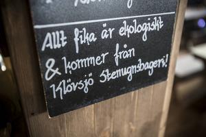 Ekologiskt – ett av ledorden på Berggatan 8.