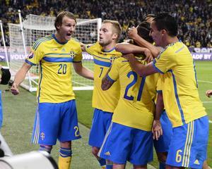 Ola Toivonen fixade 1–1 mot Ryssland.