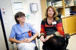 Enligt cheferna Kerstin Lindgren-Fors och Anna-Lena Lundberg är personalen på Ankaret duktiga på måluppfyllelse. Hälsocentralen har, till skillnad från de flesta i länet, gått plus.