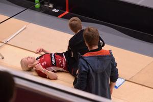 Skräckbilden – men Anna Wijk kom tillbaka och låg bakom 3–2 och 4–2.