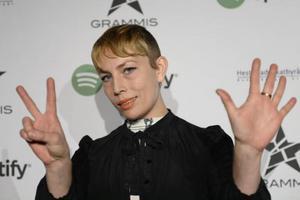 Jenny Wilson är nominerad till sju Grammisar och kan bland annat ta hem priserna för årets artist, album, kompositör och textförfattare.