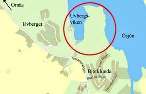 Den planerade bebyggelsen får en infart från Torsångsvägen.