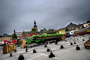 Under Falukalaset kommer tivolit att hålla till på Gamla Posten-parkeringen.