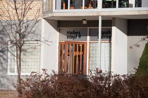 I bottenplan på ett av hyreshusen på Västerhöjden ligger musikhörnan.