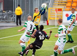 Daniel Svensson gjorde en stark insats i VSK-målet hemma mot Östersund under lördagen.