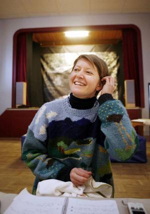 Åsa Ståhl berättar att hon alltid sparar SMS som hon blir glad av.– Det är en säker glädjekälla som man kan ha i fickan.
