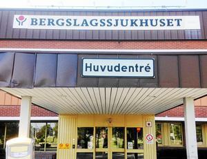 Bergslagssjukhuset i Fagersta.