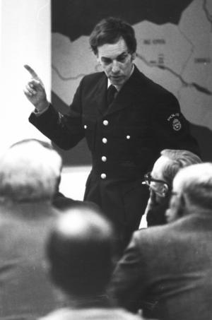 Rolf Stenberg var länspolismästare och engagerad i Johanfallet.