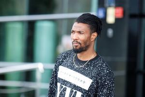 Provspelaren Isaac Vorsah testade att träna med ÖSK på tisdagen men tvingades avbryta träningen i Lagos på grund av sjukdom.