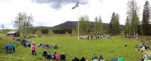 Nu är Långå skans, tack vare flitiga bybor, en öppen plats där man tydligt ser spåren av försvarsverket som uppfördes 1658.