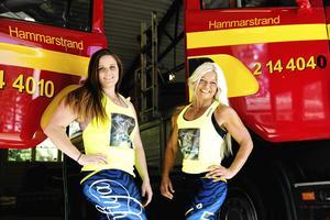 Caroline Jonsson och Carina Åslund, som tillsammans kallar sig för Norrskensflammor, har tagit sig till Los Angeles i USA för att tävla i World Police & Fire Games. Caroline ska tävla i styrkelyft och Carina i bodybuilding.