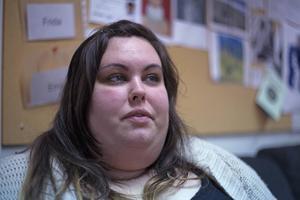Therese Jundén från Iggesund läser fotografi på Forsa Folkhögskola.    – Föreläsningen och bildbedömningen har varit väldigt givande för mig, säger Therese Jundén.