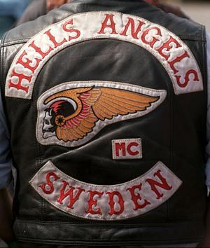 Creutz MC i Falun har under flera år sympatiserat med Hells Angels. Enligt medlemmen började det med att Faluklubben umgicks med medlemmar i Hells Angels, bland annat vid fester och olika mc-arrangemang. Foto: Scanpix.